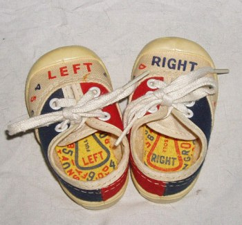 left right shoes