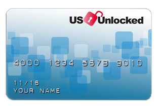 US Unlocked Credit Card